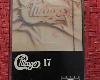 Chicago 17 Cassette Tape