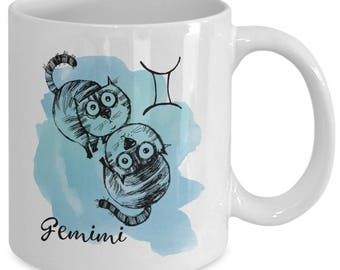 Gemini - May/June Birthday Coffee Mug
