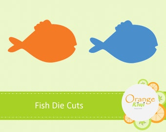 Fish Cut Outs Etsy