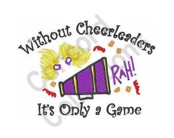 Cheerleaders - Machine Embroidery Design