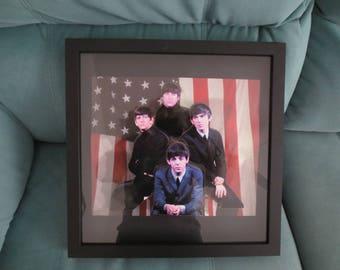 The Beatles  3D Art