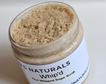 Chai Whipped Sugar Scrub