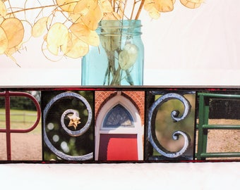 Peace Letter Photography Sign - Peace Christmas Sign - Peace Home Decor - Christmas Peace Sign - Peace Home Sign - Peace Christmas Gift