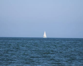 Sailboat Blue