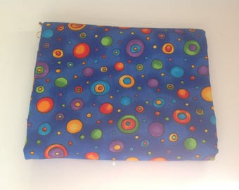 Polka Dot Rainbow Cotton Fabric | Fat Quarter