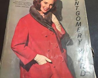 Montgomery Ward catalog catalogue 1963 fall winter mod fashion