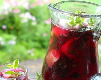 4 ounce Hibiscus Mint Tisane