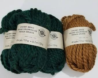 Loops and Thread Chunky Braid Yarn