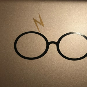 Harry Potter Decal Harry Potter Harry Potter Glasses With