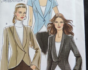 Vogue V8331 Size 14-20 Misses Close Fitting Lined Jackets Sewing Pattern / Uncut FF