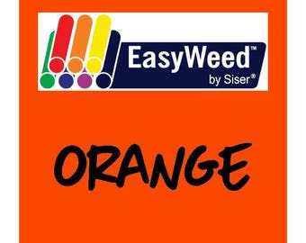 Siser EasyWeed Heat Transfer Vinyl - HTV - Orange
