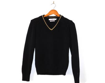 Tommy Hilfiger Black 90s Sweater