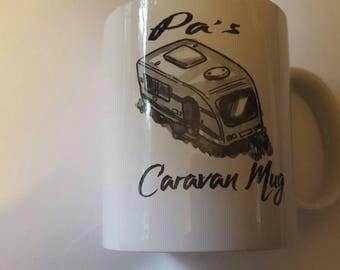 Pa's Caravan mug