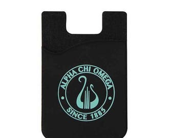 Alpha Chi Omega Wallet for Cell Phones