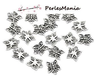 PAX 50 charm magnificent Butterfly silver Antique S113847 pendant