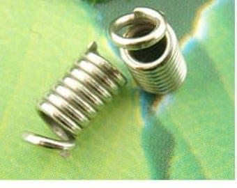 Great Lot of 200 caps screw metal 8 mm x 4 mm gunmetal color