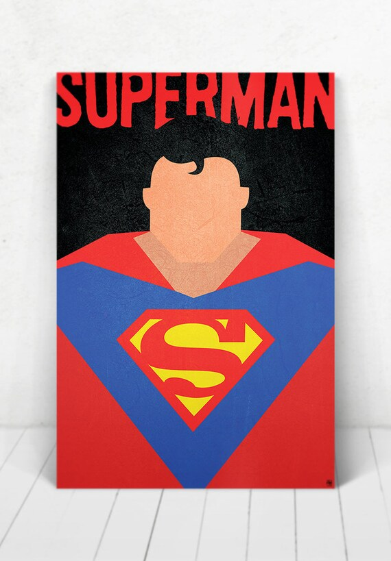 Superman Poster - Illustration / Superman Poster / Superman