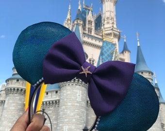 Ariel Ears, Mermaid ears, Ariel Mouse Ears, Ariel Minnie Ears, Mermaid Minnie Ears, Mermaid Mouse Ears, Ariel Disney Ears