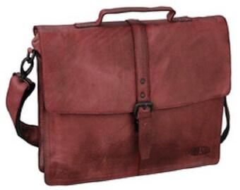 Handbag , Aktentasche, Briefcase, Messenger, Bag, Leather, red