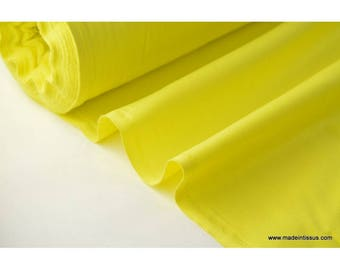 Fabric cretonne cotton yellow by 50cm