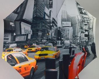 Umbrella Piganiol NYC printed satin