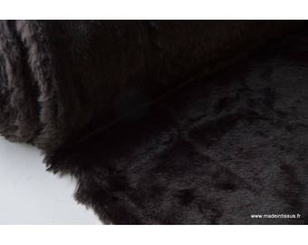 Genuine faux fur Brown .x1m