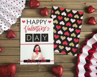 Valentine's Day - Black and Red Hearts