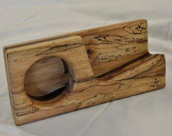 Wooden Speaker Amplifier for all iPhones