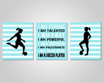 Gentil Soccer Wall Art   Soccer Wall Decor   Soccer Prints   DIY Printable Soccer  Wall Art