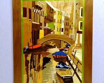 """Venice"" 39 X 29 Panel INLAY"