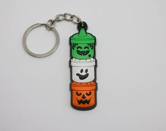Boo Buckets McDonalds Happy Meal Halloween Pails PVC keychain