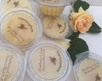 UK Wax Melts - Beeswax & Soy Wax Blend Melts - choose your scent (30g)