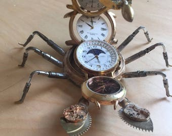 Scorpion - Made from Watch Parts
