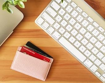 Cesoria Cardholder, ID, Cash 2 Slot Wallet - Pink