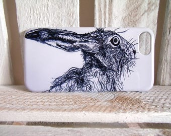 Hare iPhone 7 Case - Cover - Skin - Hare Gift