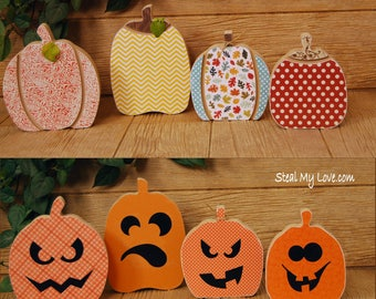 Reversible Jack-o-lanterns / Pumpkins