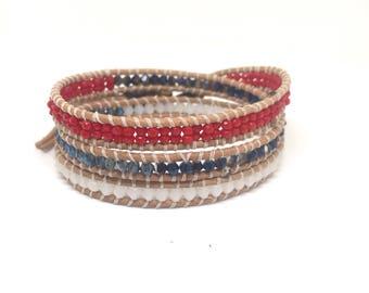 Independence Wrap Bracelet