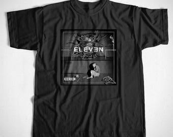 T-Shirt Eleven Hawkins S M L XL 2XL 3XL 4XL Eminem Rap Hip hop Stranger Things
