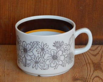 Scandinavian Vintage Gefle MAUD Coffee Cup Ceramic Cup