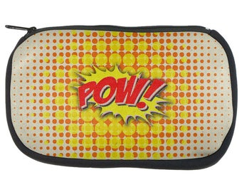 Comic Book Super Hero Pow Pencil Pouch