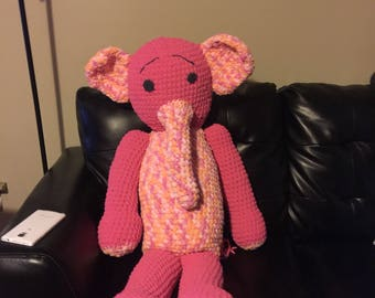 Crochet Ella the Elephant