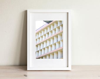 Cube Hotel Wall Art Poster