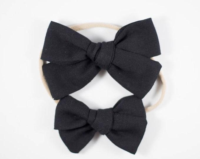 Sloane bow || Black