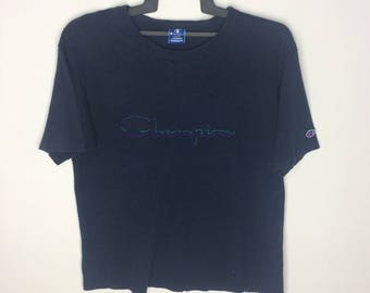 Vintage Champion T-shirt Big Logo