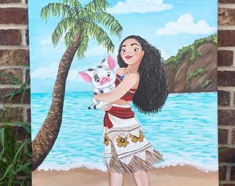 Disney Moana Painting