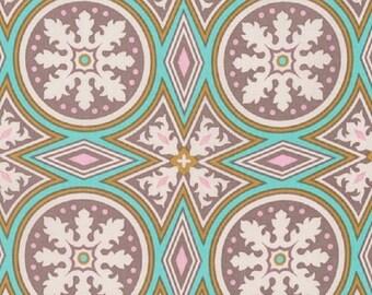 "Joel Dewberry   Free Spirit    Modernist  ""Tolson"" Smoke    Cotton Fabric"