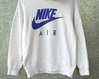 Vintage NIKE hoodie / NIKE big logo / NIKE spell out hooded