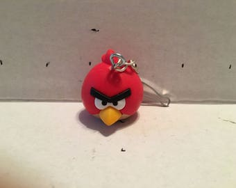 Angry Bird's Red Key Chain