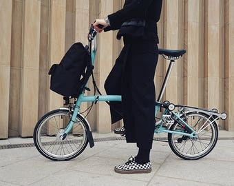 Brompton Backpack(for M&P bar) and Frame, Bag, Handmade in Seoul, Korea