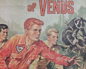 Vintage SciFi Novel. The Trappers of Venus 1961